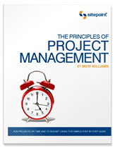 Principles of Project Management cover